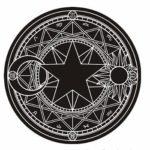 黒色の魔法陣 【カーペット】【召喚魔法】 ―魔力錬成用魔法陣―
